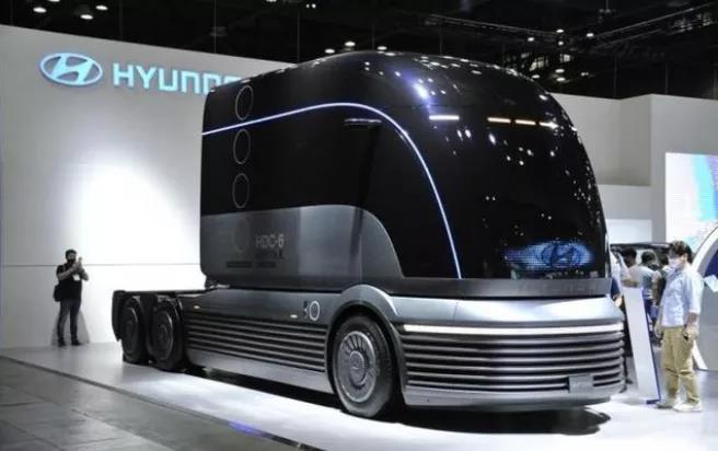 5年1600辆,韩政府和现代汽车联手出口瑞士氢燃料电池重卡