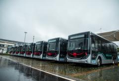 40辆宇通纯电动智能网联公交车交付湖北鄂州!