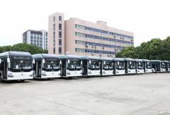 500辆申沃纯电动客车交付上海!
