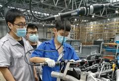 福田发动机助力首批欧康PDV4国六发动机小批量下线