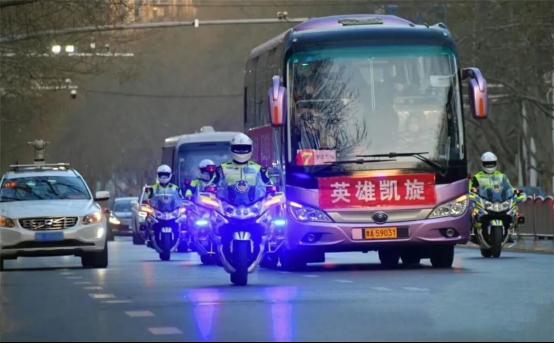 宇通T7为抗疫英雄护航,以中国制造之名向功勋致敬!1602