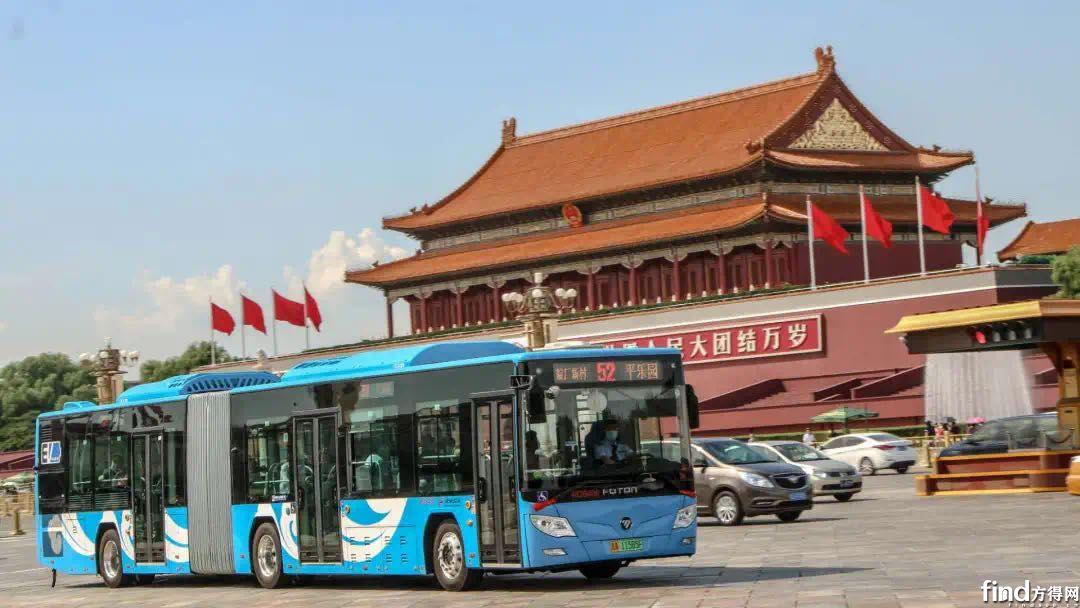 福田欧辉首批16米LNG插电增程式公交车BJ6160