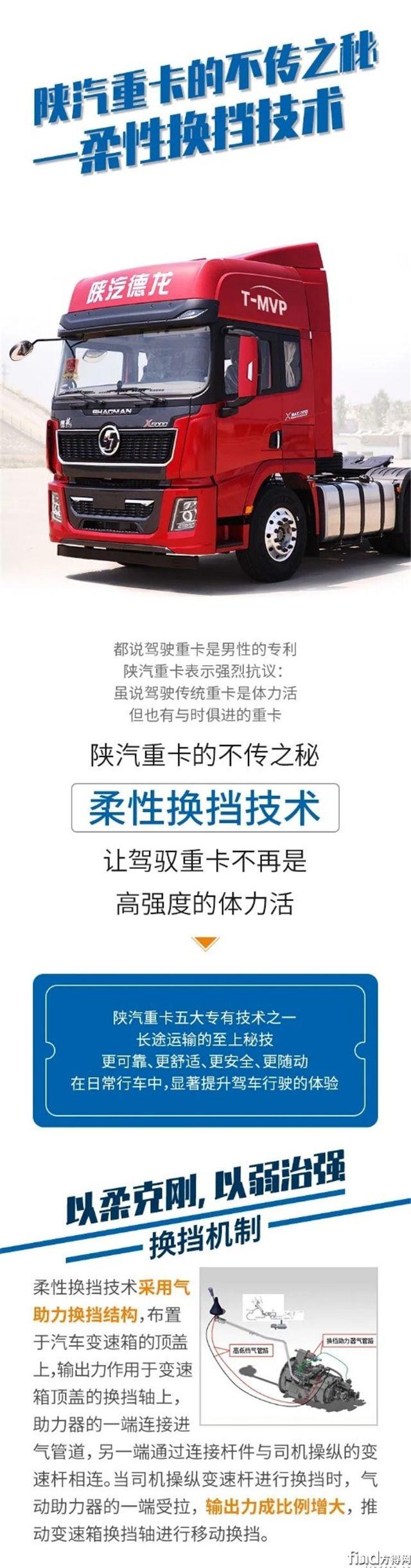 柔性换挡技术:陕汽重卡的不传之秘