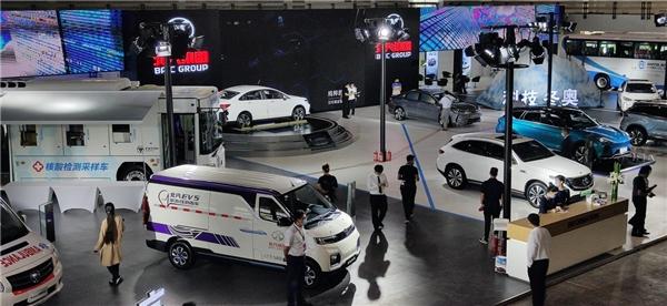 """北京科博会C位吸睛 北汽EV5紫外线消毒车斩获""""流量"""""""