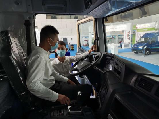 """联合卡车""""双星共舞""""2020全球智慧出行大会670"""