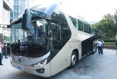 发布最新款旅游客车!宇通客车旅游新品上市品鉴会在天津举行
