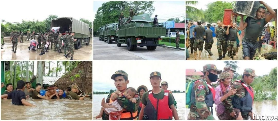 点赞!290辆红岩重卡助柬埔寨抗洪!