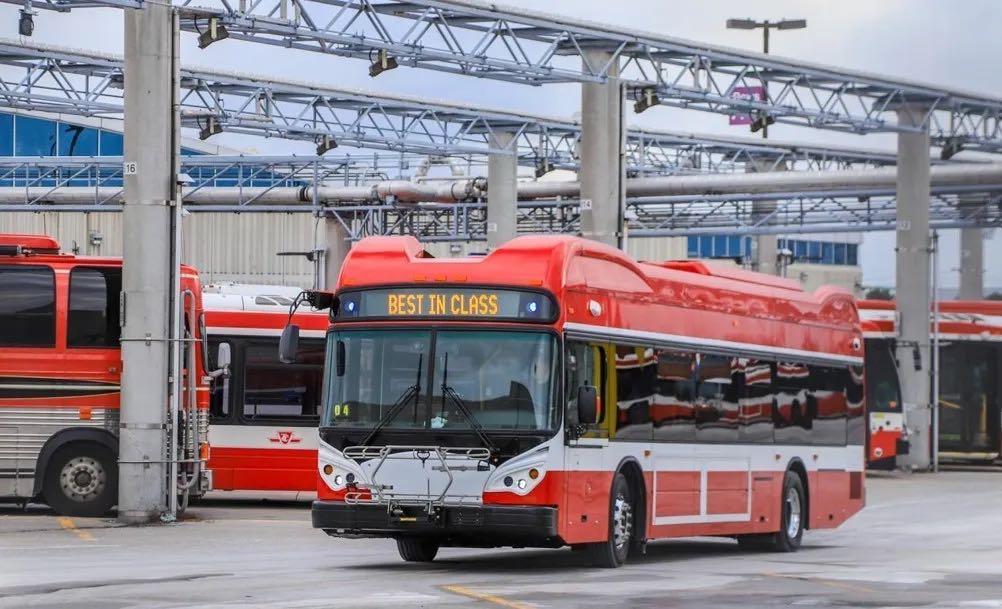 比亚迪纯电动大巴将为多伦多市民提供绿色出行服务