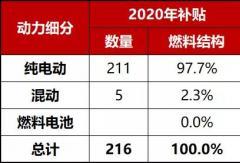 2020年第10批新能源汽车推广应用推荐车型统计