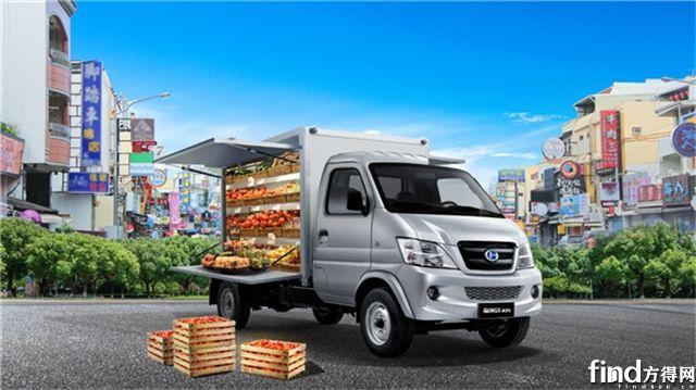 创业帮手:北汽昌河福瑞达翼展车化身移动超市