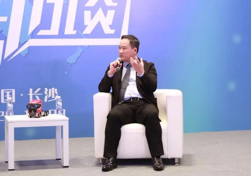 新华访谈|三一重卡董事长梁林河深度解析三一重卡发展规划