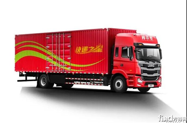 看产品 | 康明斯动力+9.8米货厢,格尔发旗舰版快递之星天生理想型