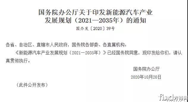《新能源汽车产业发展规划(2021~2035年)》发布,氢能源被重要提及