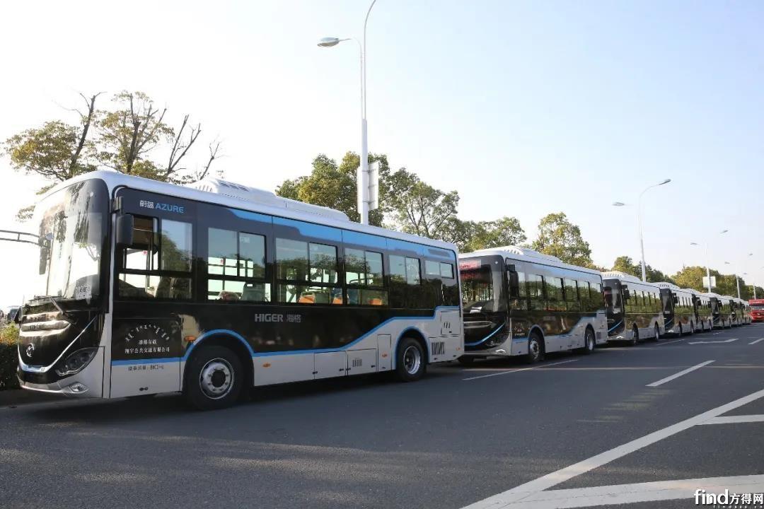 40辆苏州金龙智能网联公交车驶入内蒙古大草原