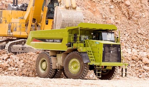 北重集团最新无人驾驶刚性矿用自卸车选择配备艾里逊变速箱