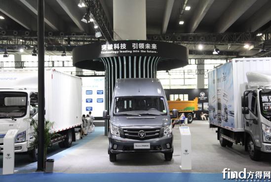 福田图雅诺通途重载版闪耀广州车展 全新轻客重载技术好评如潮
