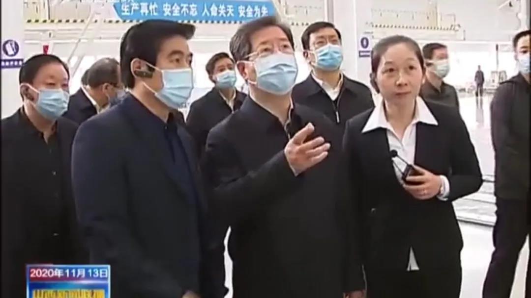 山西省委书记楼阳生一行深入大运新能源汽车生产基地调研!说了啥?