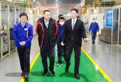 上海韵达董事长聂腾云访问法士特