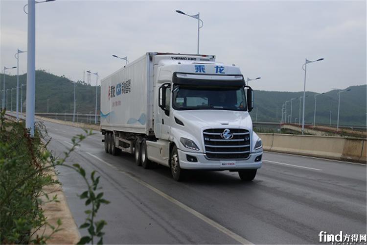 乘龙T7智能冷藏车,八千里路智与鲜