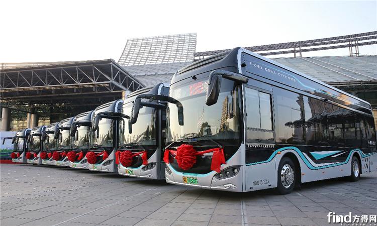 批量海格氢燃料公交正式启航开跑!