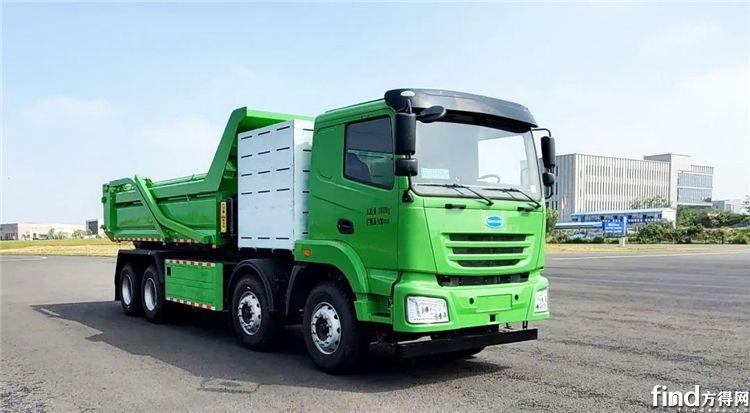 开沃氢燃料电池自卸汽车公告图片
