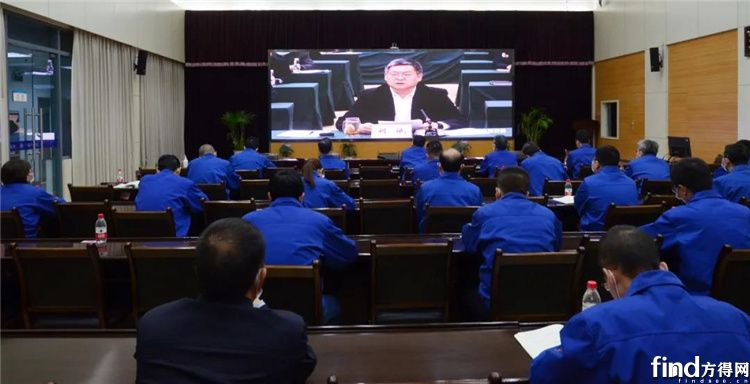 法士特参加省国资委党史学习教育动员会