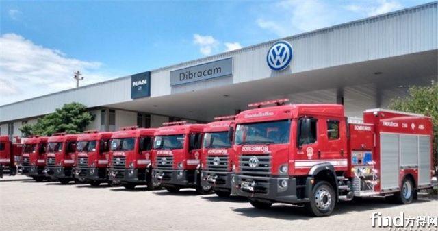 艾里逊全自动变速箱--圣保罗市消防大队最新车队的标配