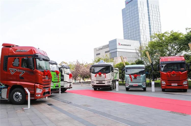 解放卡车苏沪战区百日劲销1.3万辆 大涨98.4%!