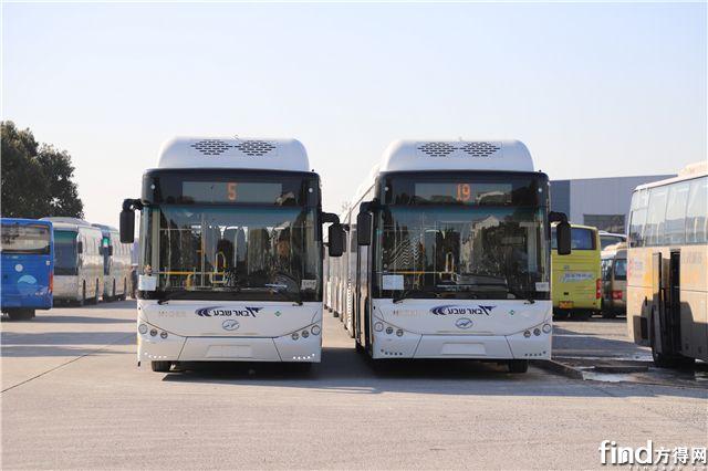 """""""一带一路""""再发力!苏州金龙31辆天然气公交车出口以色列"""