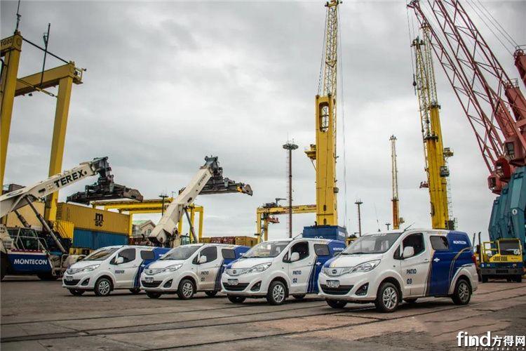 比亚迪打造乌拉圭首支纯电动厢式车队!