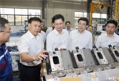 广西壮族自治区主席蓝天立到玉柴调研,勉励玉柴打造更多硬核产品