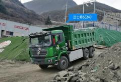 三大品牌纯电动自卸车搭载法士特6E240驰骋川藏线!
