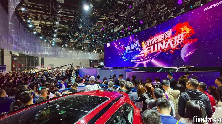 """四大展台 数十款新车 2021上海车展""""长城现象""""异军突起"""