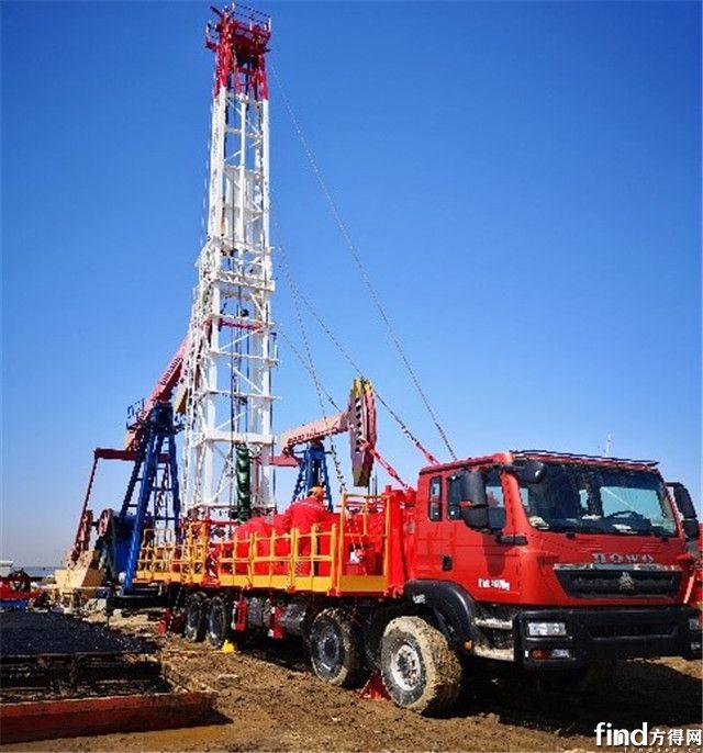 中石化四机石油机械车载钻修设备选择配备艾里逊油田系列变速箱