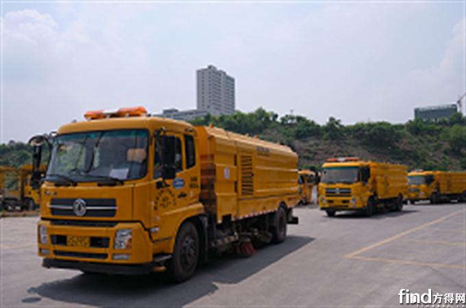 重庆市环卫车队选择艾里逊3000系列全自动变速箱改善作业效率