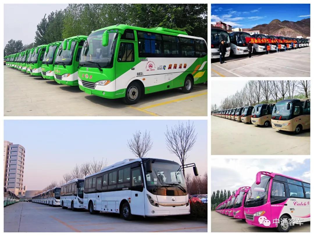 中通客车三大系列精品助力农村客运开新局