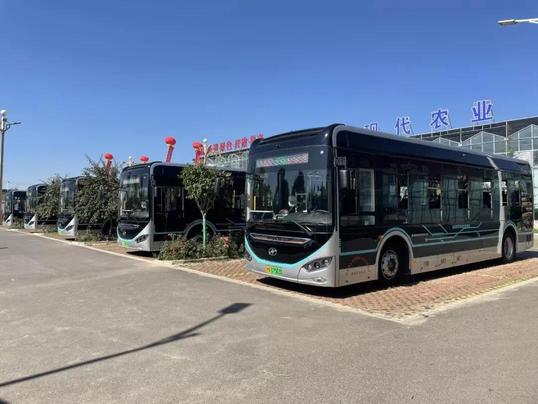 30辆海格纯电动公交车助阵甘肃临夏县域公交提档升级