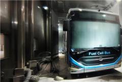 中通氢燃料客车高标准通过整车低温试验
